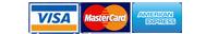 Visa - MasterCard - Americain Express