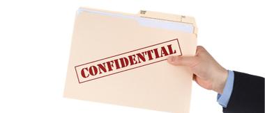 Transfert documents confidentiels